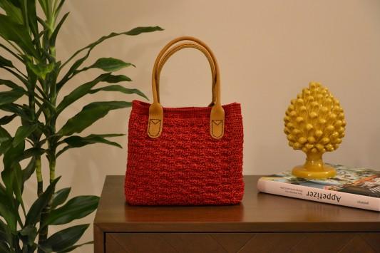 Cherry Marie Crochet Bag