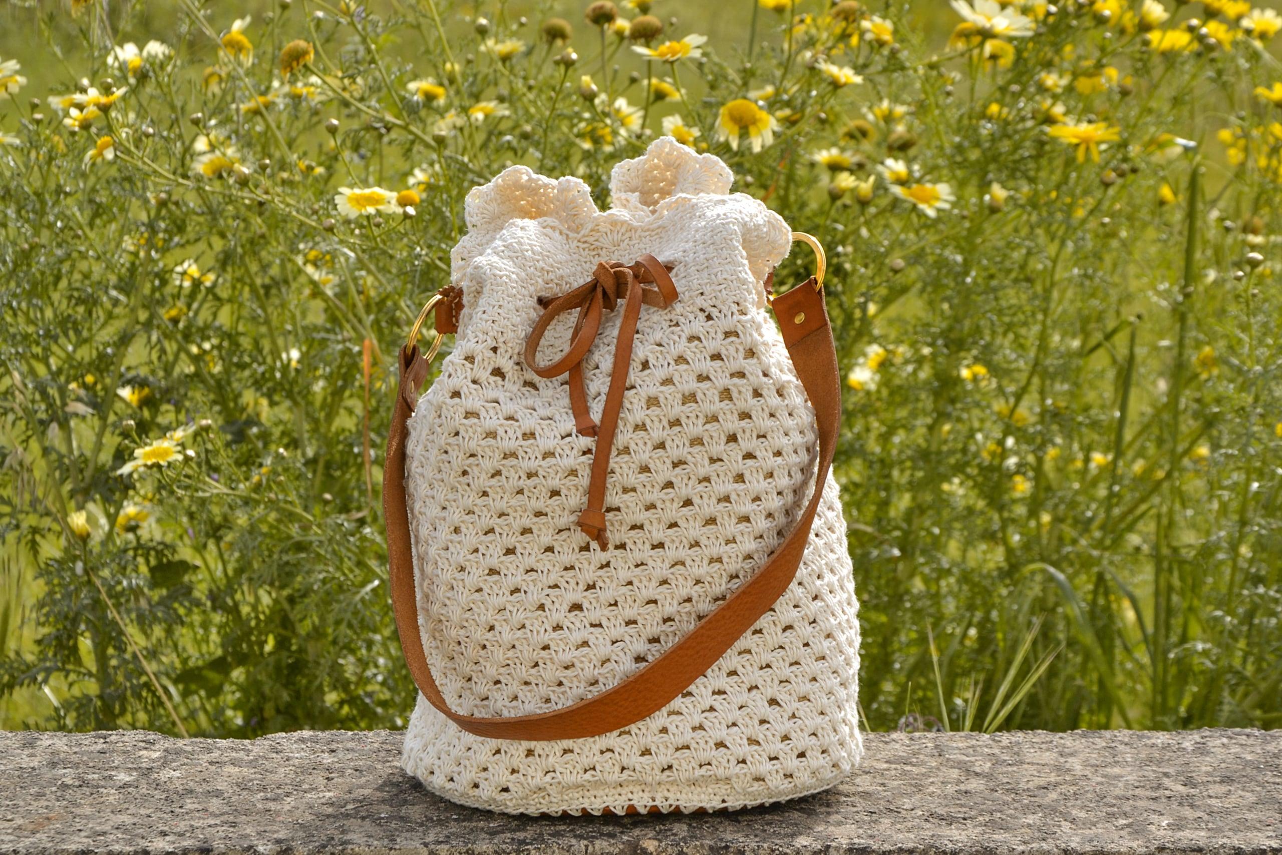 Fracap Crochet Basket